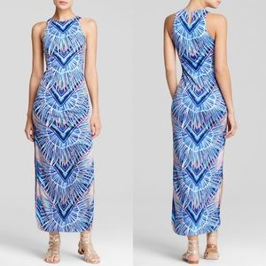 MARA HOFFMAN Rising Palm Column Maxi Dress